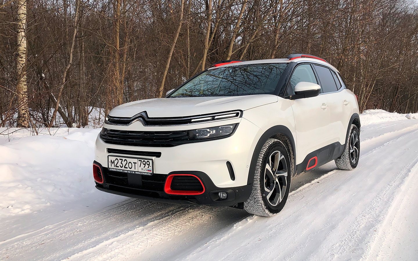 Воздушная подушка. Instagram-тест Citroen C5 Aircross